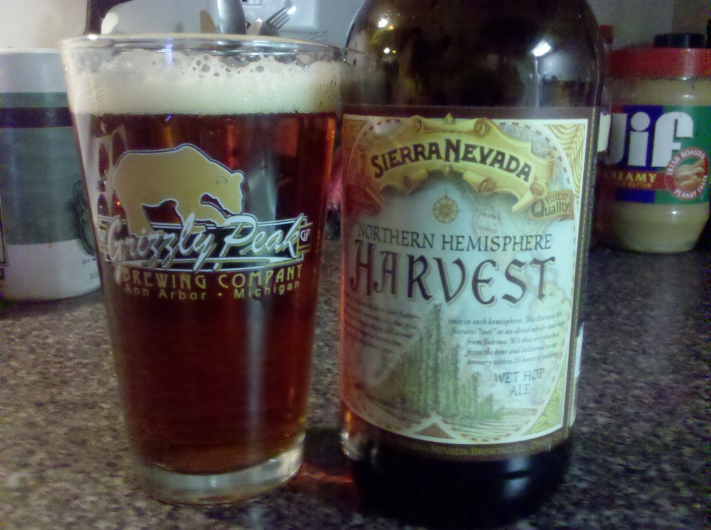 Sierra Nevada Northern Hemisphere Harvest Wet Hop Ale - 6.7% ABV