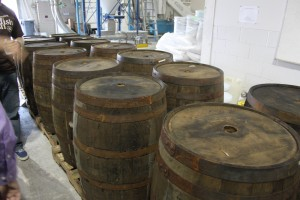 Dogfish Head Whiskey Barrels