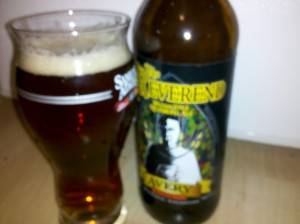 Avery Brewing's The Reverend Belgian Style Quadrupel