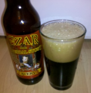 The Czar Imperial Stout