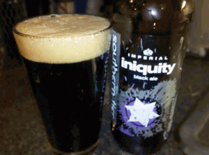 Southern Tier - Iniquity Black Ale - 9.0% ABV