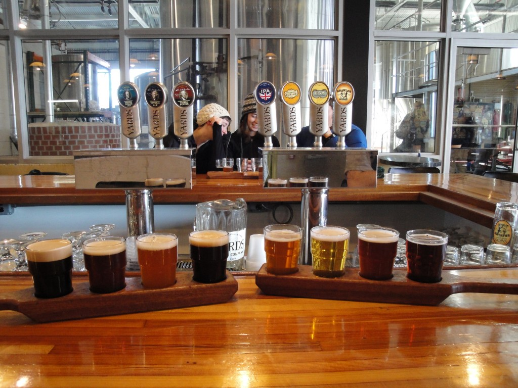 Yard's Brewing: The Flights