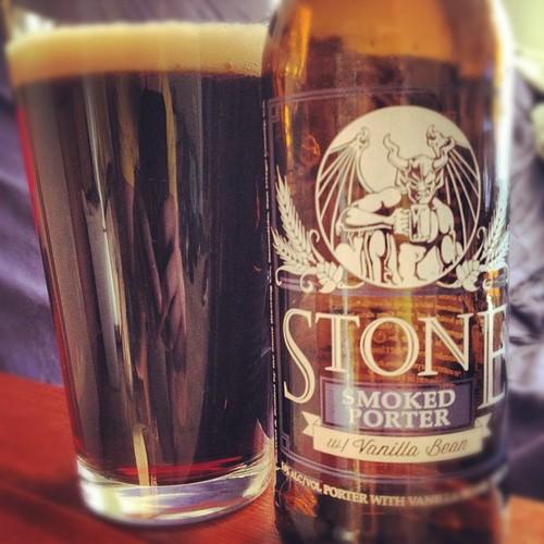 Stone Smoked Porter w/ Vanilla Bean
